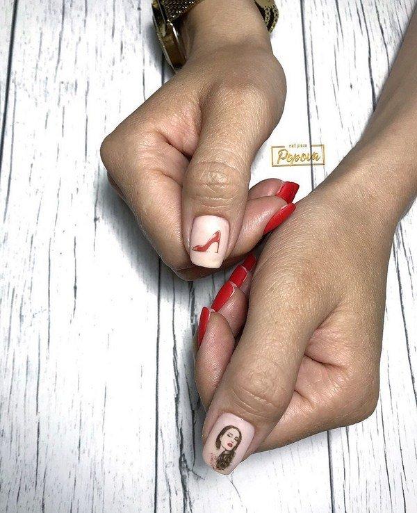 letnie foto idei manikyura 2019 2020: novinki letnego dizajjna nogtejj, tendencii i trendy115 Літні фото ідеї манікюру 2019 2020: новинки літнього дизайну нігтів, тенденції і тренди