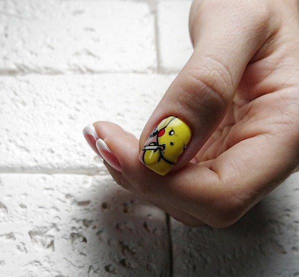 letnie foto idei manikyura 2019 2020: novinki letnego dizajjna nogtejj, tendencii i trendy35 Літні фото ідеї манікюру 2019 2020: новинки літнього дизайну нігтів, тенденції і тренди