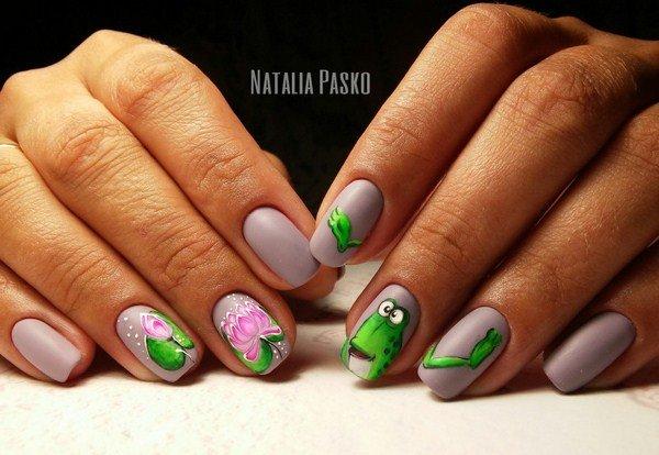 новинки літнього дизайну нігтів, тенденції і тренди.Новинки летнего дизайна ногтей, тенденции и тренды