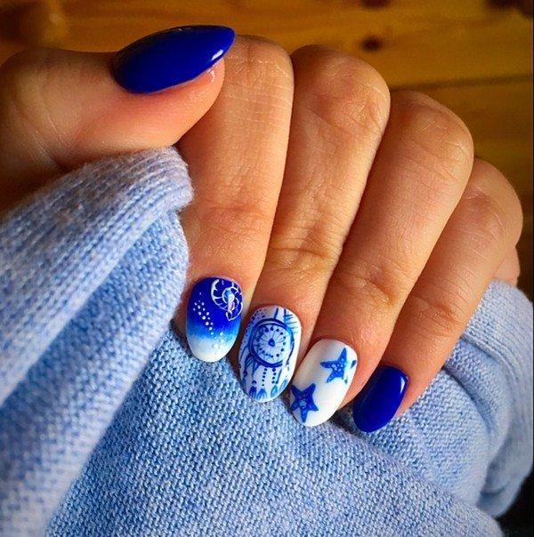 letnie foto idei manikyura 2019 2020: novinki letnego dizajjna nogtejj, tendencii i trendy99 Літні фото ідеї манікюру 2019 2020: новинки літнього дизайну нігтів, тенденції і тренди