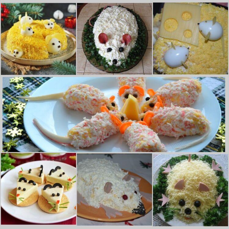 8f4a31d66c195c5e886fc52cb26728d7 Салат Щур (мишка) на Новий рік 2020: дивовижно смачні новорічні рецепти
